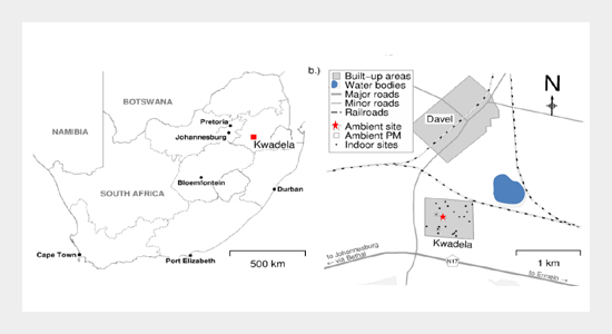 Characterizing Light-absorbing Aerosols in a Low-income Settlement in South Africa