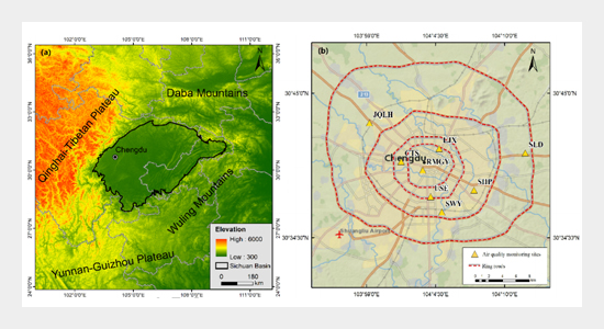 Prediction of Potential High PM2.5 Concentrations in Chengdu, China