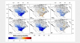Differential Probability Functions for Investigating Long-term Changes in Local and Regional Air Pollution Sources